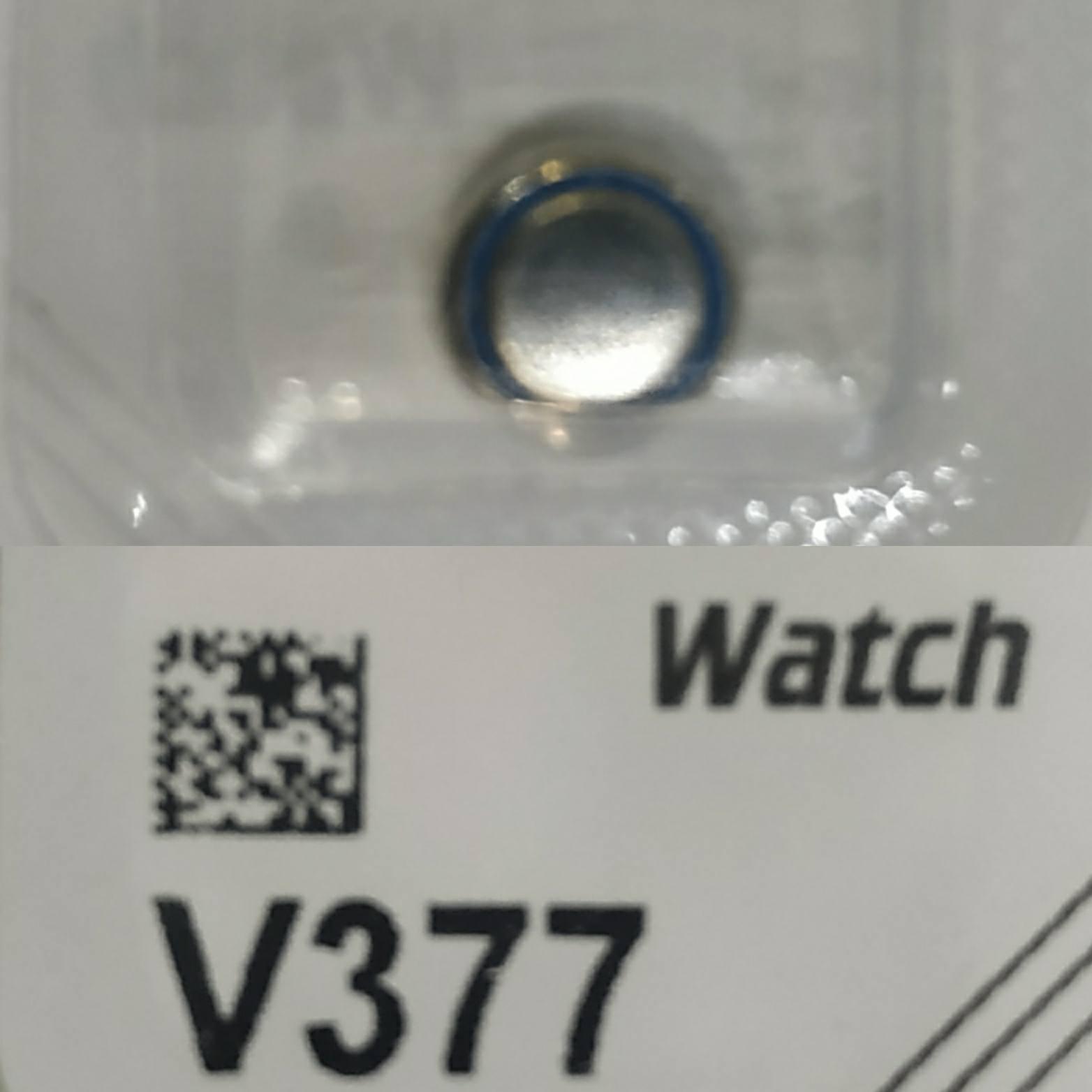 Часовая батарейка Varta 377 SR 626 SW